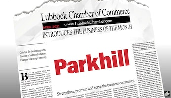Parkhill Named Lubbock Business of the Month