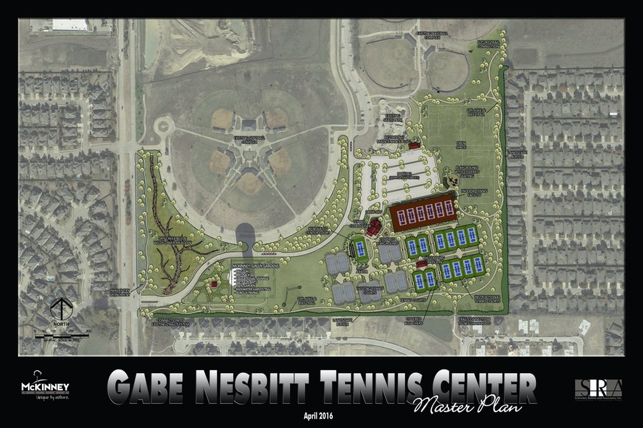 gabe nesbitt tennis center expansion master plan Gallery Images