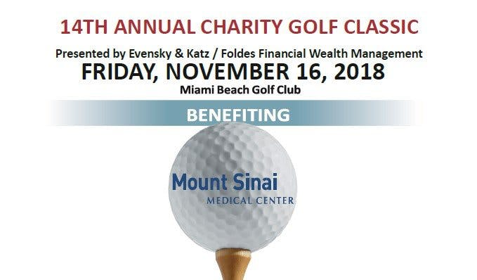 November 16th, 2018 14th Annual Charity Classic Golf Tournament event