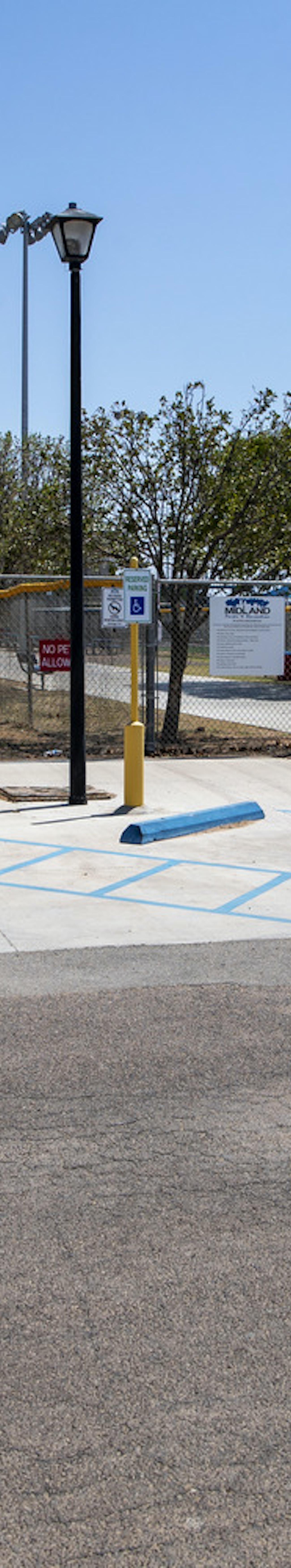 Midland Bill Williams Softball Complex Paving Renovation At Hogan Park