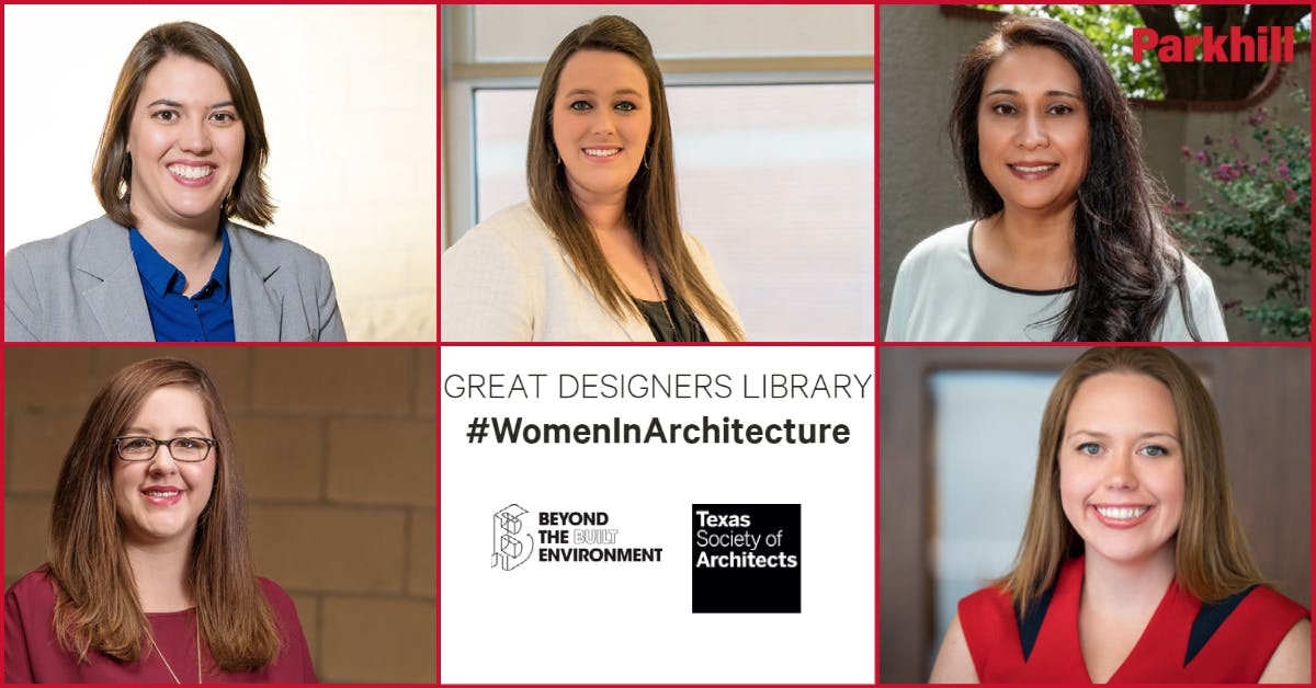 Parkhill Women in Architecture Named to Great Designers Library, Say It Loud Exhibit cover image