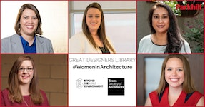 Parkhill Women in Architecture Named to Great Designers Library, Say It Loud Exhibit