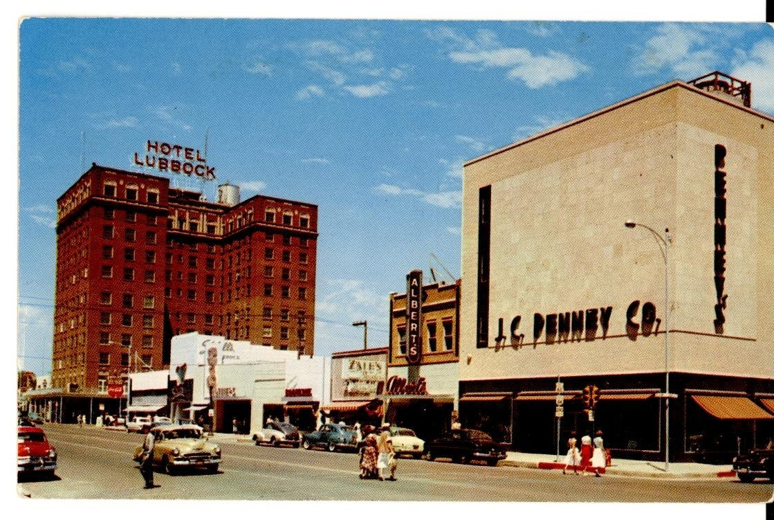 Then and Now: The Revitalization Efforts of Downtown Lubbock's Historic Buildings cover image