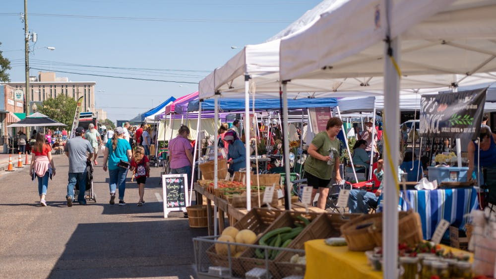 The Lubbock Downtown Farmers Market – A Lubbock Institution cover image