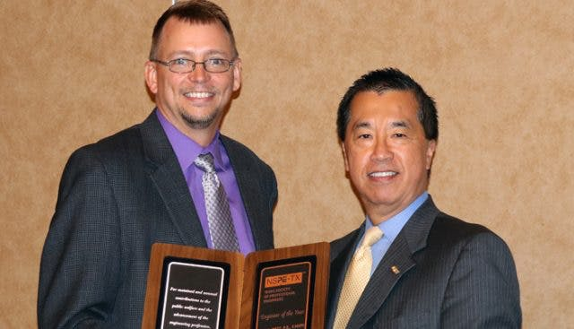 Eric West Named TSPE Engineer of the Year