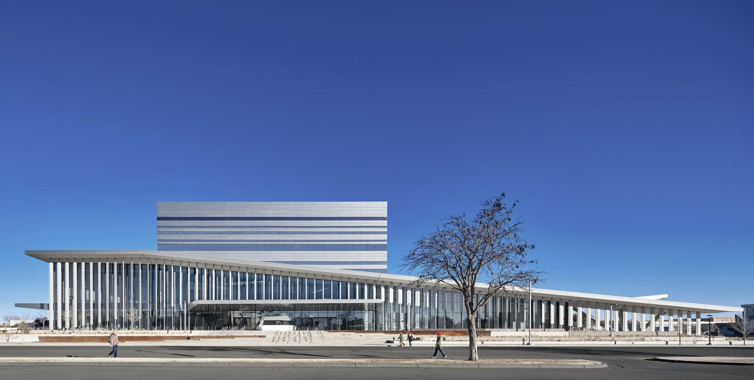 Archello: Buddy Holly Hall of Performing Arts and Sciences reflects the physical and cultural landscape of Texas