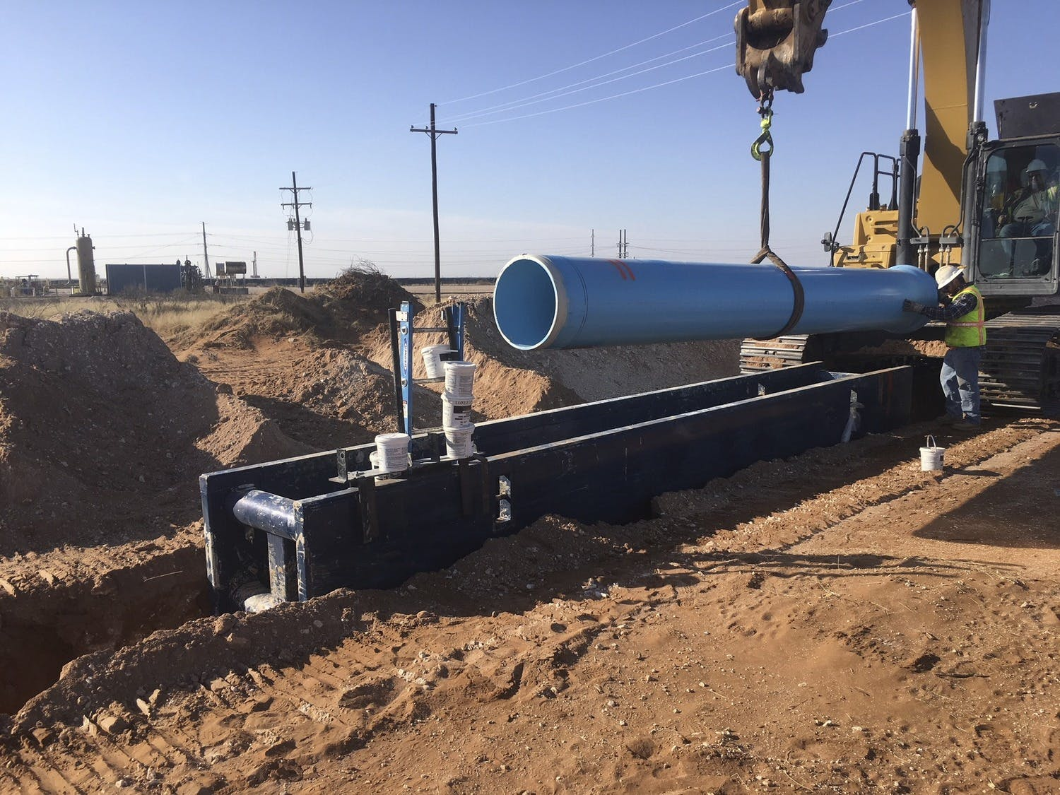 Winkler Services Announces Permian Pipeline Project with Parkhill, Garney