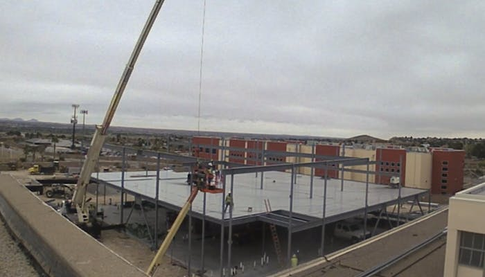 EPISD Coronado HS Academic Building: Construction Update Feb. 13-April 21