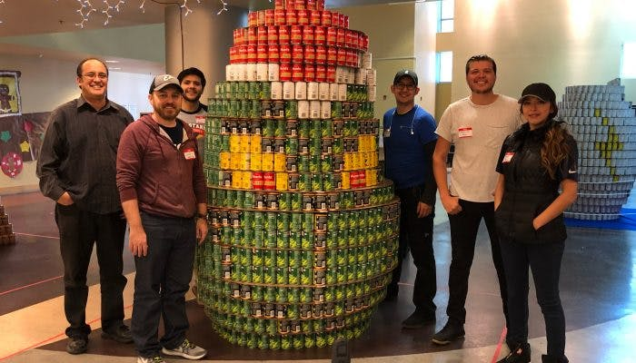 Building Community with CANstruction