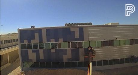 Time-Lapse Tuesday-Panel Installation at EPISD Coronado HS