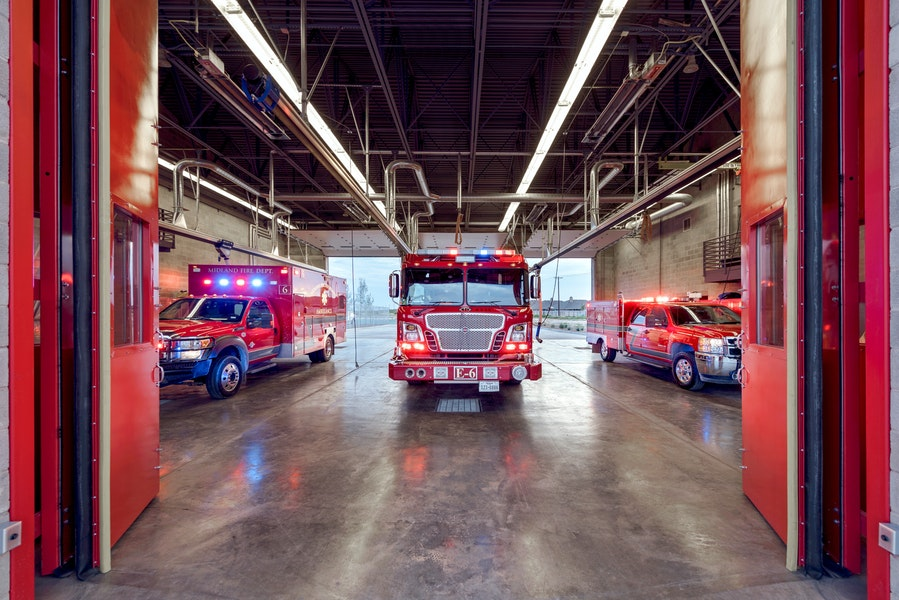 midland fire station six Gallery Images