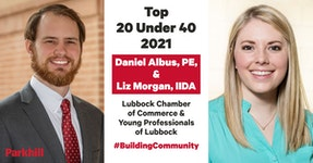 Albus, Morgan Named in Lubbock Chamber of Commerce Top 20 Under 40