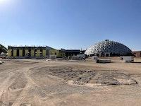 Borger Dome Construction Progression