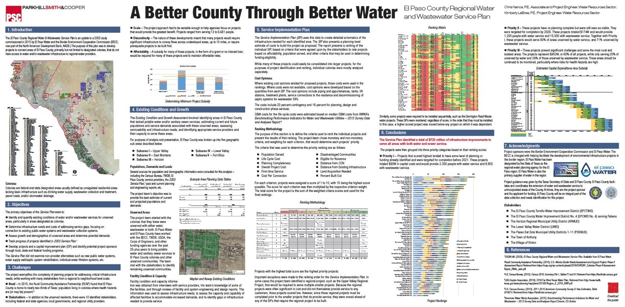 becc el paso county regional water and wastewater service plan Gallery Images