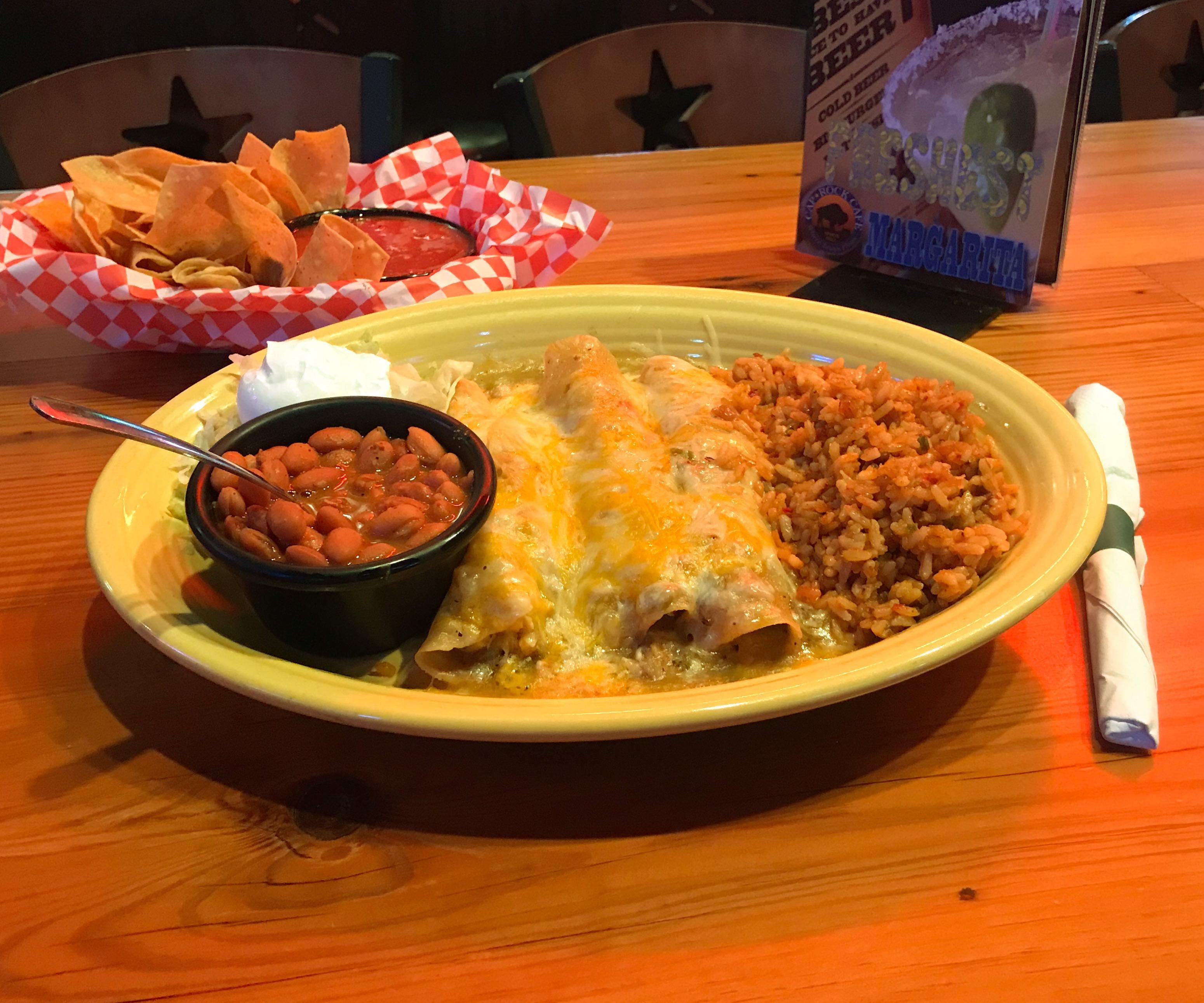 AUTHENTIC SPICY TEX-MEX DISHES