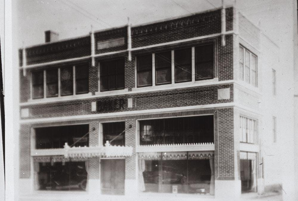 Then and Now: The Baker Building cover image