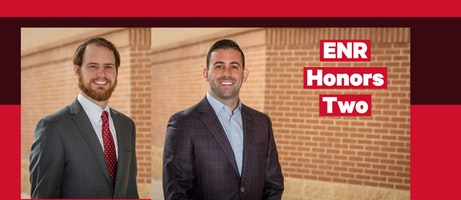 ENR Honors Two Parkhill Employees as Top Young Professionals