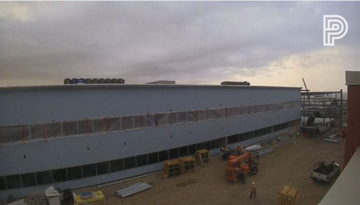 EPISD Coronado HS Academic Building - Construction Update Aug. 24-Nov. 14