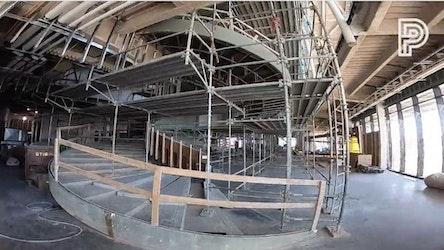 Time-Warp Tuesday: Progress of Buddy Holly Hall