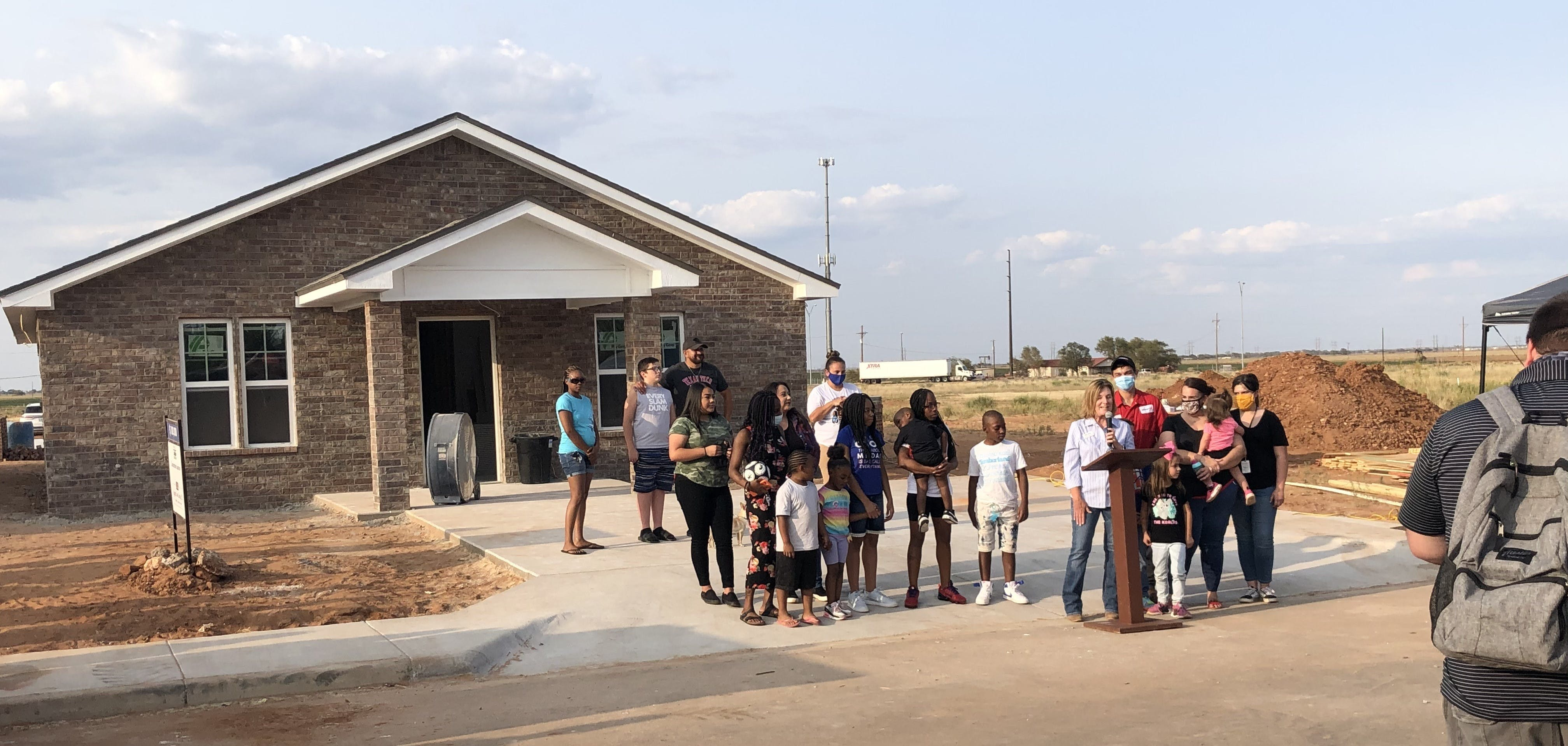 A home of their own - Lubbock family gets keys to Habitat for Humanity house
