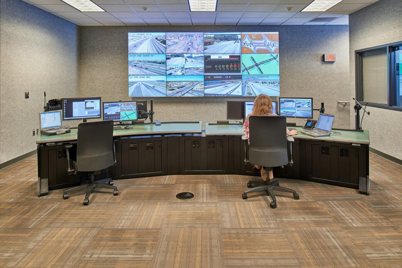 El Paso Traffic Management Center Gallery Images