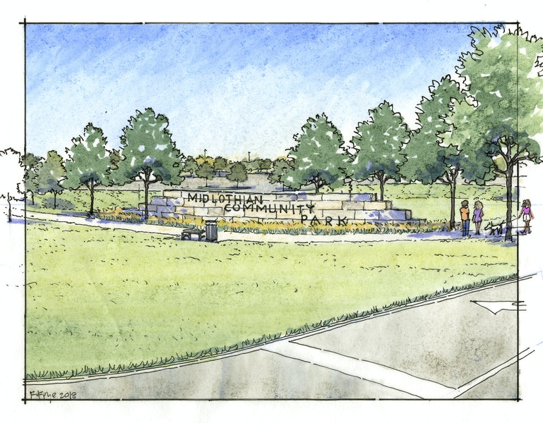 midlothian community park phase 2 preliminary engineering Gallery Images