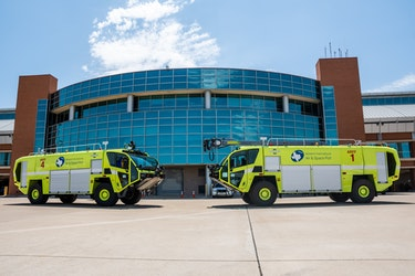 Midland International Air and Space Port Receives New FAA Class 4 Aircraft Rescue and Fire Fighting Vehicles