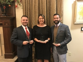 Three from Parkhill Honored as 2017 Twenty Under Forty Award Recipients