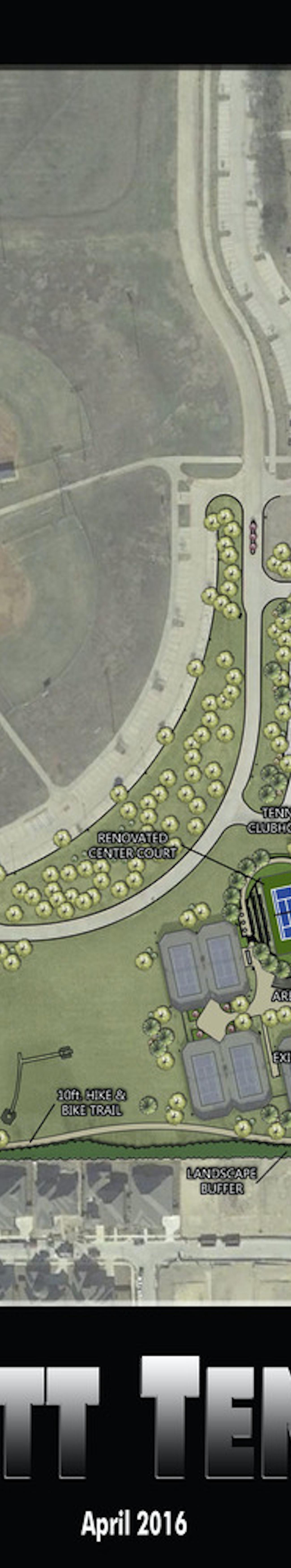 Gabe Nesbitt Tennis Center Expansion Master Plan
