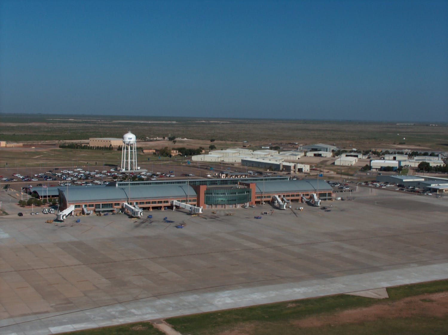 Built on Community & Aviation History-Construction of the Midland Airport Terminal