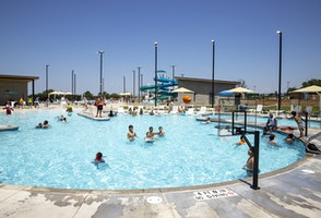 KAMR/KCIT - City of Amarillo celebrates Thompson Park Pool officially re-opening with ribbon cutting ceremony