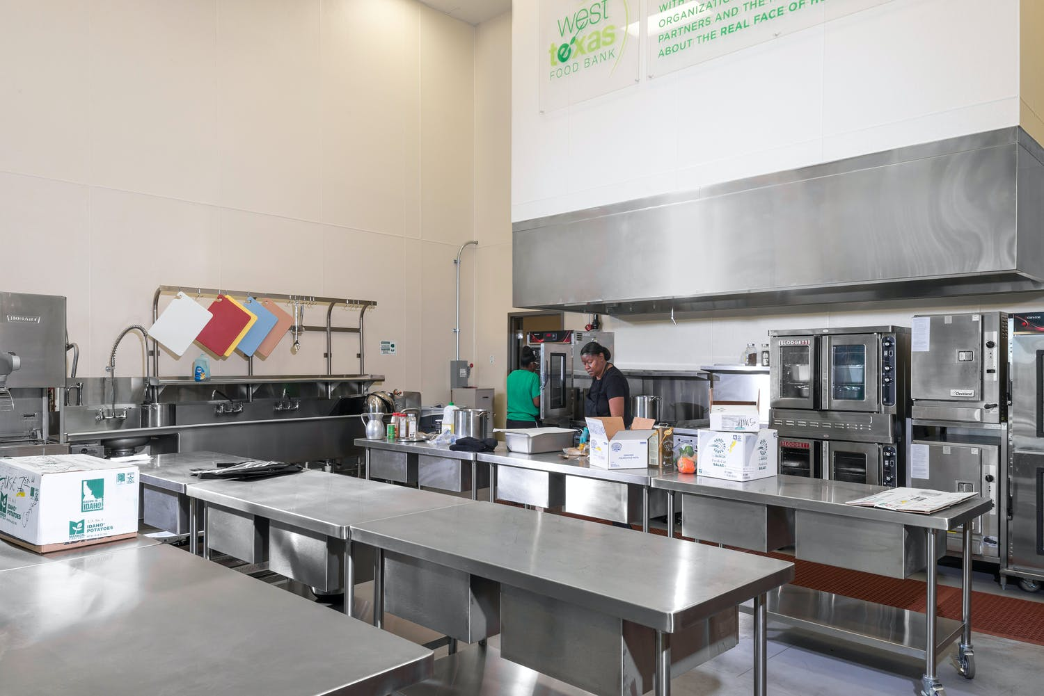 West Texas Food Bank Odessa Facility Gallery Images