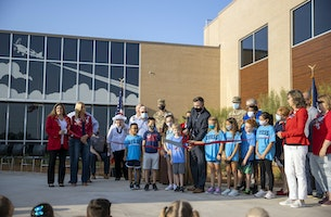 Dyess Elementary School Officially Takes Flight