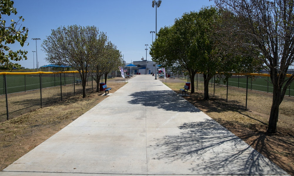 midland bill williams softball complex paving renovation at hogan park Gallery Images