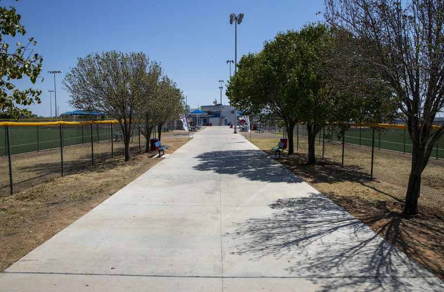 midland bill williams softball complex paving renovation at hogan park Gallery Images
