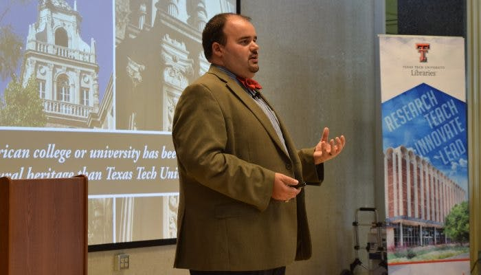 Book by Architecture, Business Grad Explores Texas Tech University Construction History
