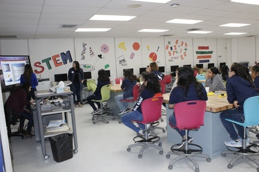 Career Choices STEM-ming from Ysleta Young Women's Leadership Academy
