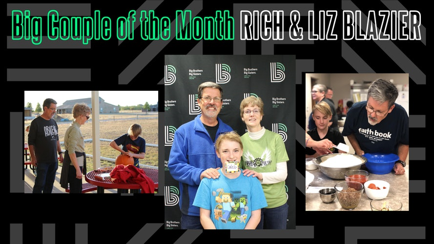 Rich and Liz Blazier - February 2021 Big Couple of the Month cover image