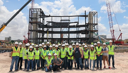 ATEMS High School Students Get Up Close Look at Engineering