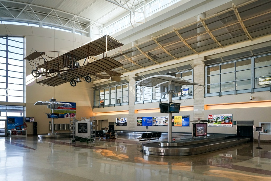 midland international airport terminal Gallery Images