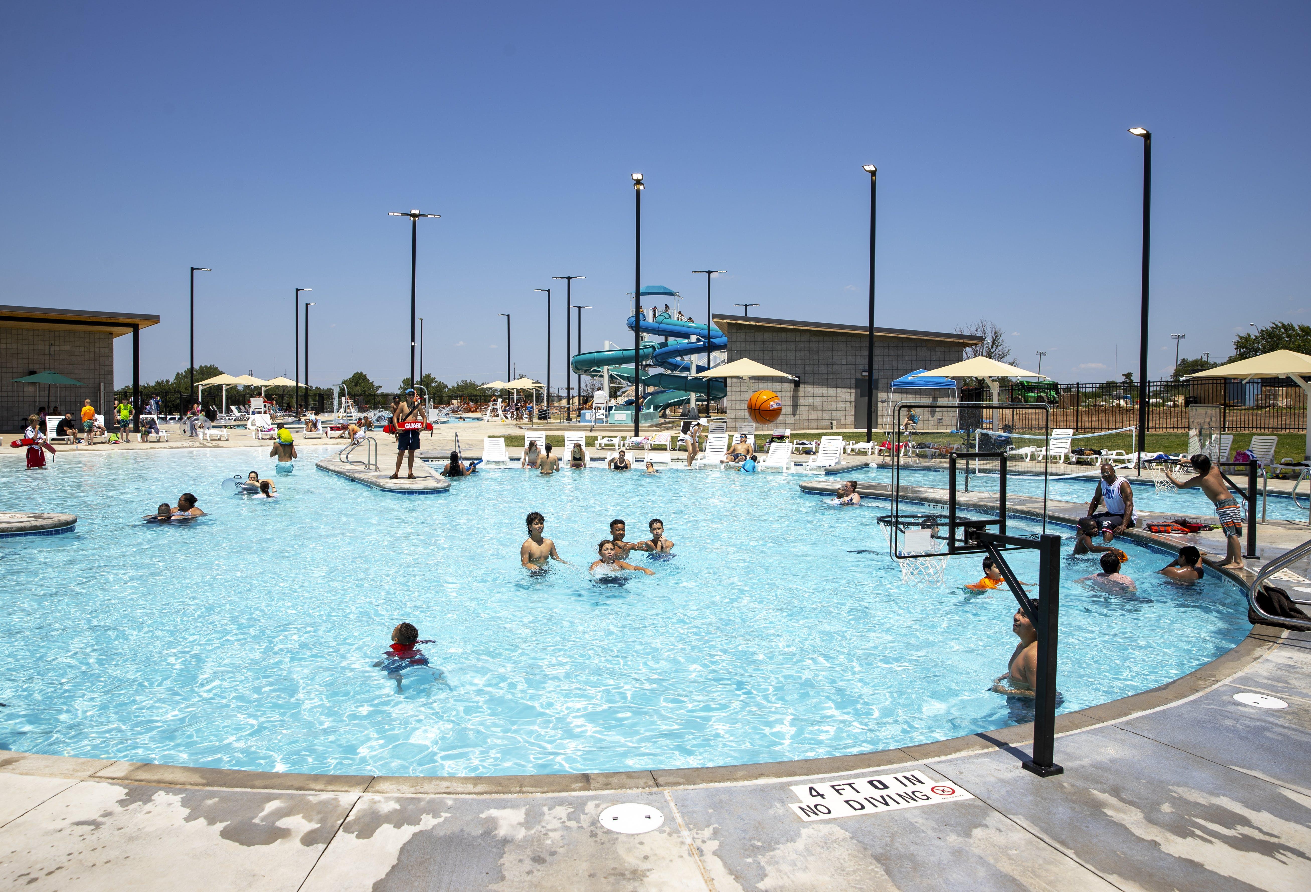 City of Amarillo Celebrates Thompson Park Pool Grand Opening