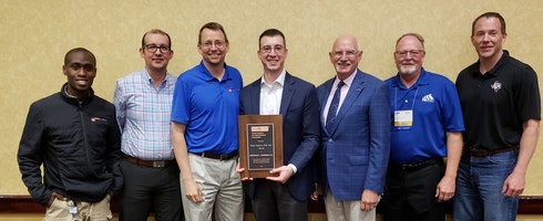 Hartman Named Texas Society of Professional Engineers Young Engineer of the Year