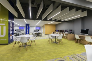 Amarillo College Adds New Student Commons Lab Underground