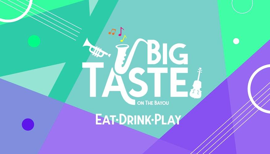 Big Taste on the Bayou cover image