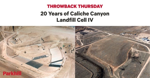 Throwback Thursday: 20 Years of Caliche Canyon Landfill Cell IV