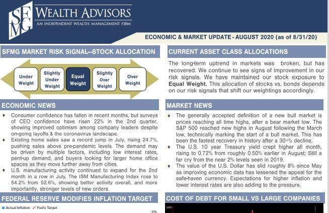 August Economic & Market Update
