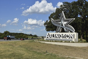 City of Arlington Newest Gateway Monument on Highway 287 Nearing Completion