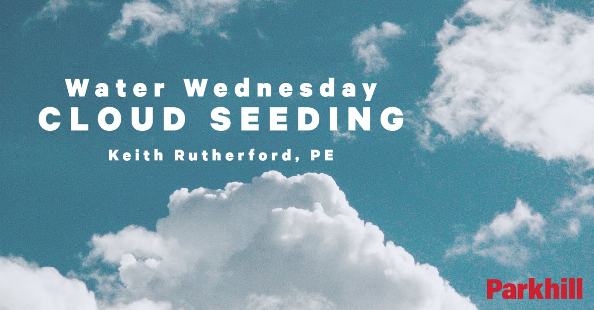 Water Wednesday – Cloud Seeding cover image