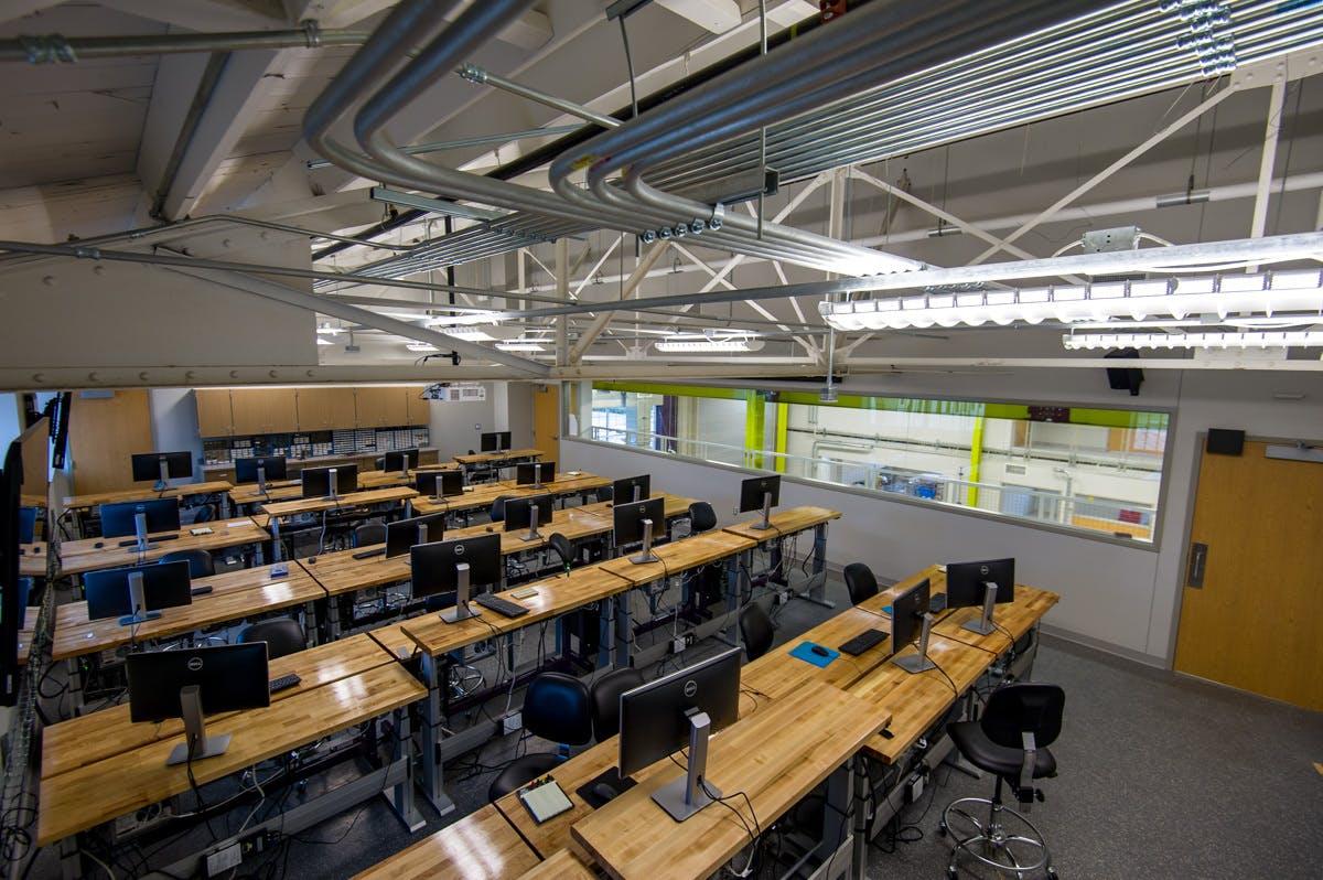 Bennett Gymnasium Renovation Gallery Images