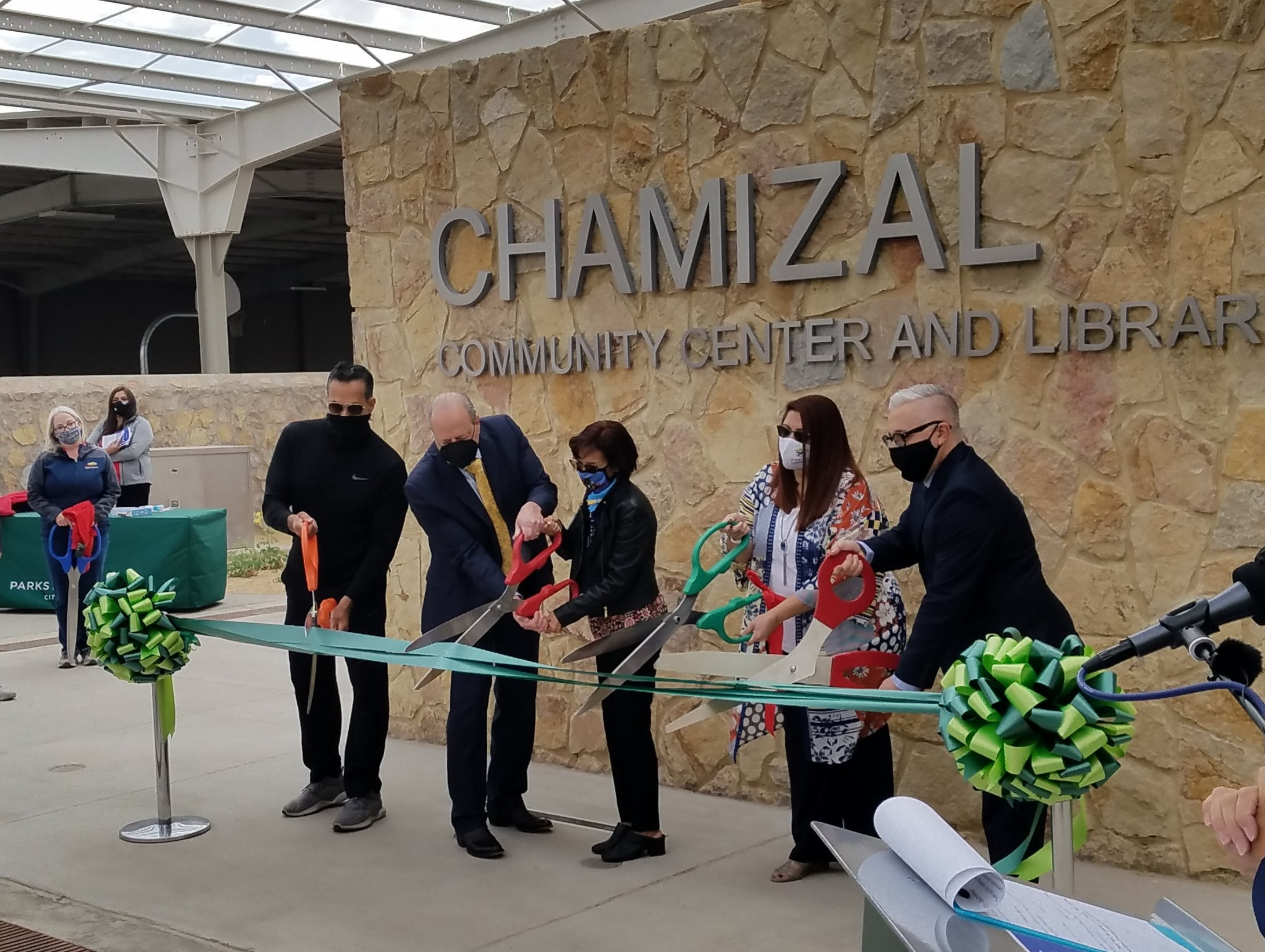 City of El Paso Cuts Ribbon on Chamizal Community Center, Park cover image